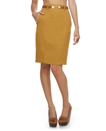 Yellow Vermont Skirt by Alythea