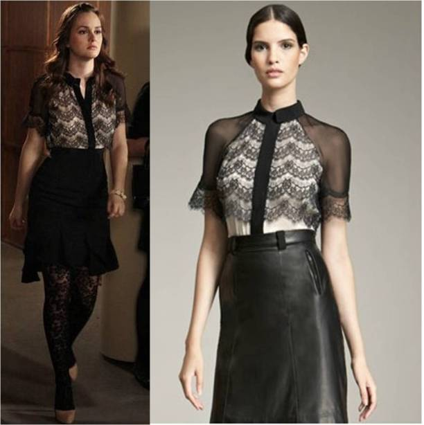 Blair Waldorf in Jason Wu 2012 - Ep. 'Princess Dowry""