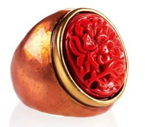 Oscar de la Renta - Cabochon Ring ($195)