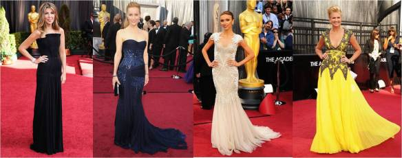 Oscars 2012 Favourite Dresses