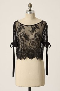 anthropologie - lace blouse