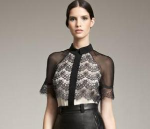 Jason Wu - Overlay Lace Blouse